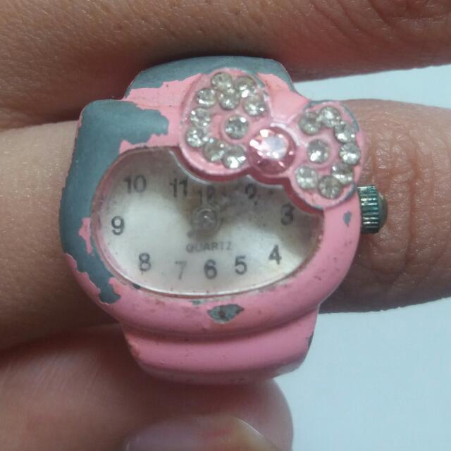Cincin Jam Hello Kitty