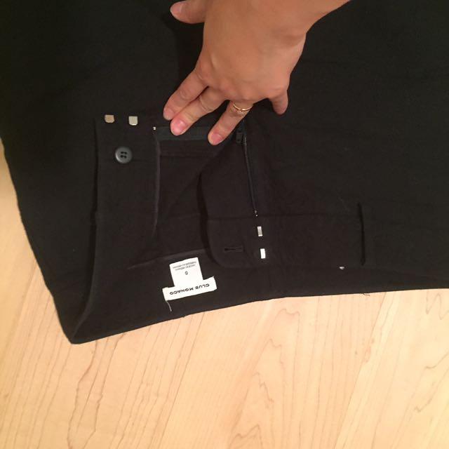 Club Monaco Cropped Dress Pants