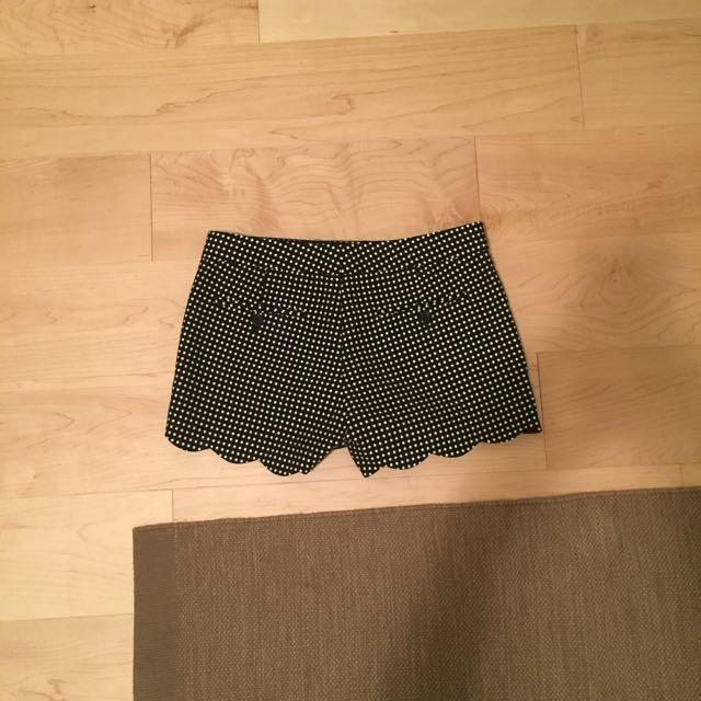 Club Monaco Polka Dot Shorts