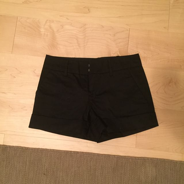 Clubmonaco Black Shorts