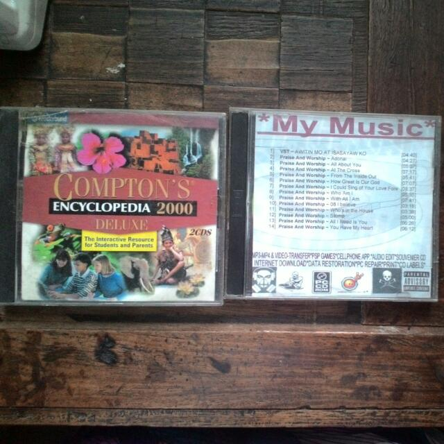 Comptons Encyclopedia And P&w Musi S