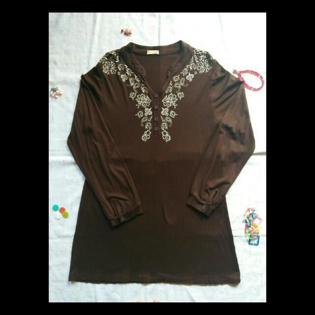 Dark Brown Tunik