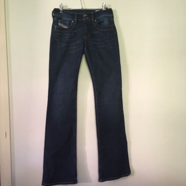 DIESEL JEANS SIZE 27 Made In Italy Flare Size 8