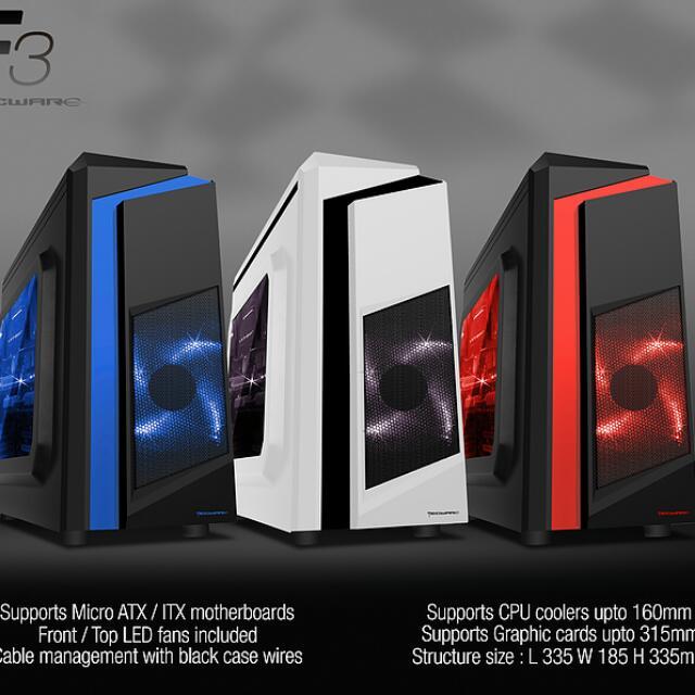 DIY Customize Desktop PC (Office use / Gaming Rig / Workstation