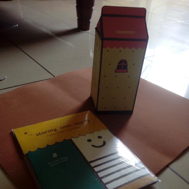 DIY STORING COIN BOX/CELENGAN DIY