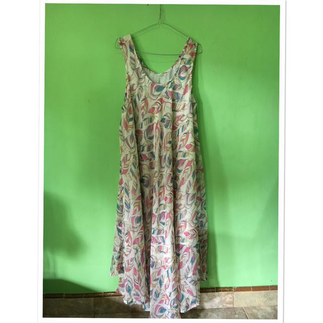 Dress Bangkok Motif