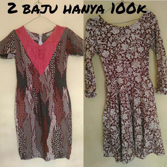 Dress Batik 100k DAPET 2