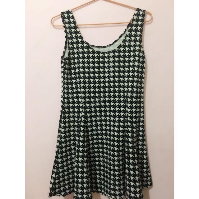 Dress Houndstooth