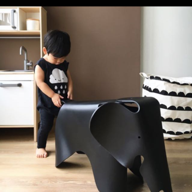 Eames vitra replica elly elephant stool furniture home for Replica vitra eames