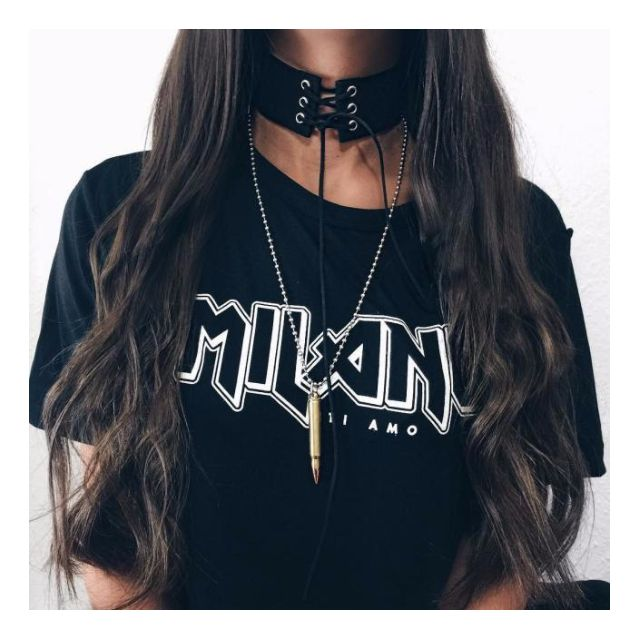 Faux Leather/Suede Lace Up Choker - Black