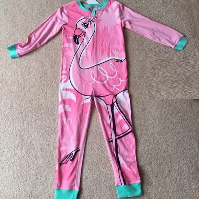 Flamingo Onesie Pajamas for girls