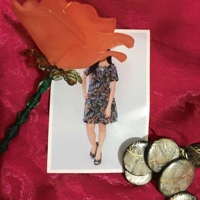 Floral Dress (Paper Scissors)