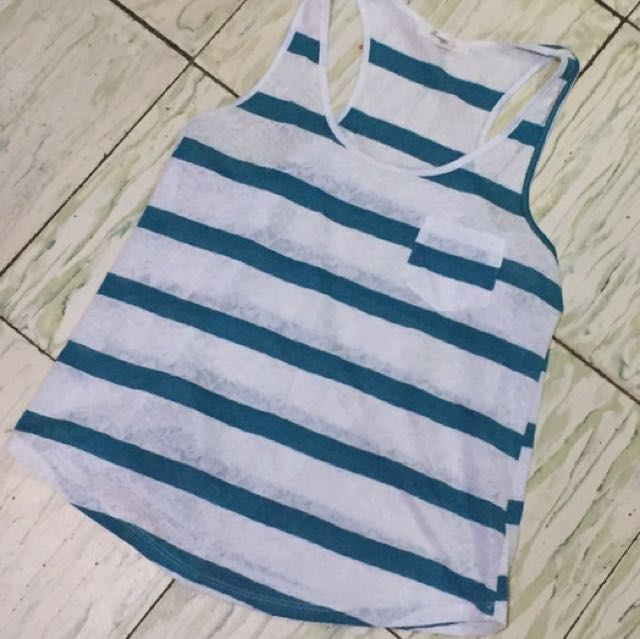 Forever 21 Knitted Loose Tank Top