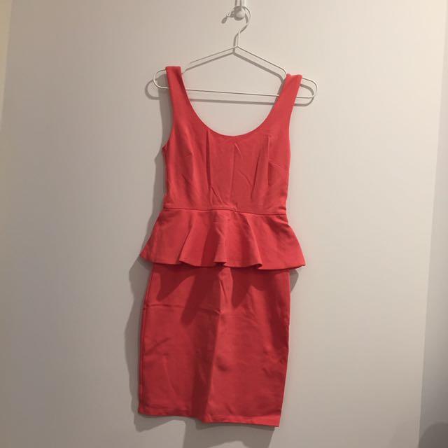 Forever New Peplum Dress