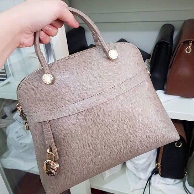 FURLA PIPER SMALL GREY