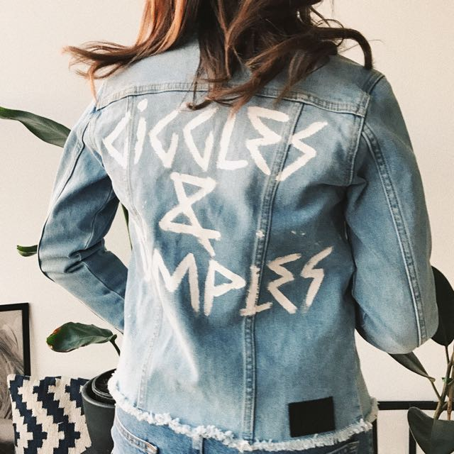 Giggles & Dimples Denim Jacket