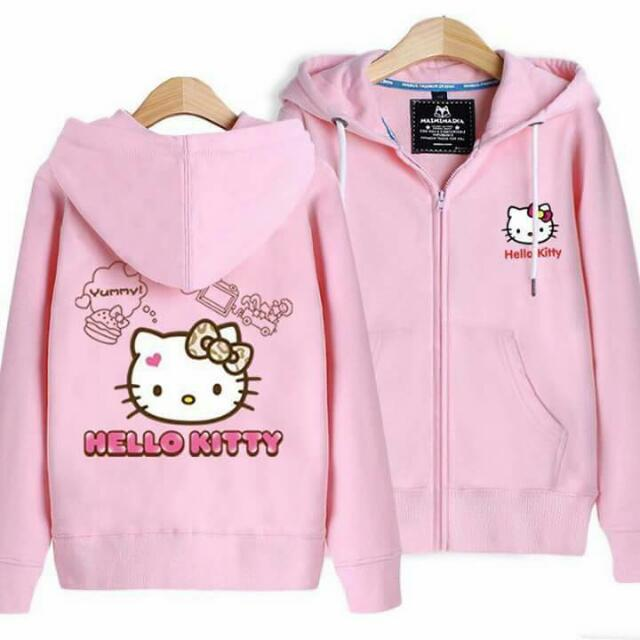 HELLO KITTY HOODIE JACKET