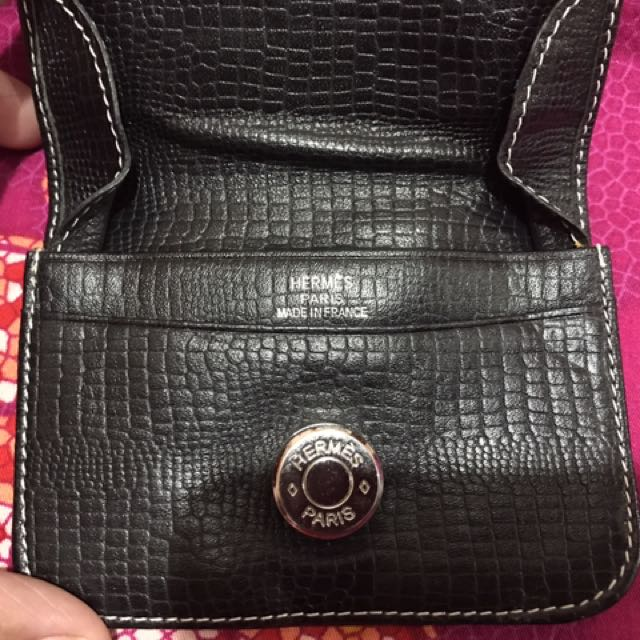 Hermes coin purse
