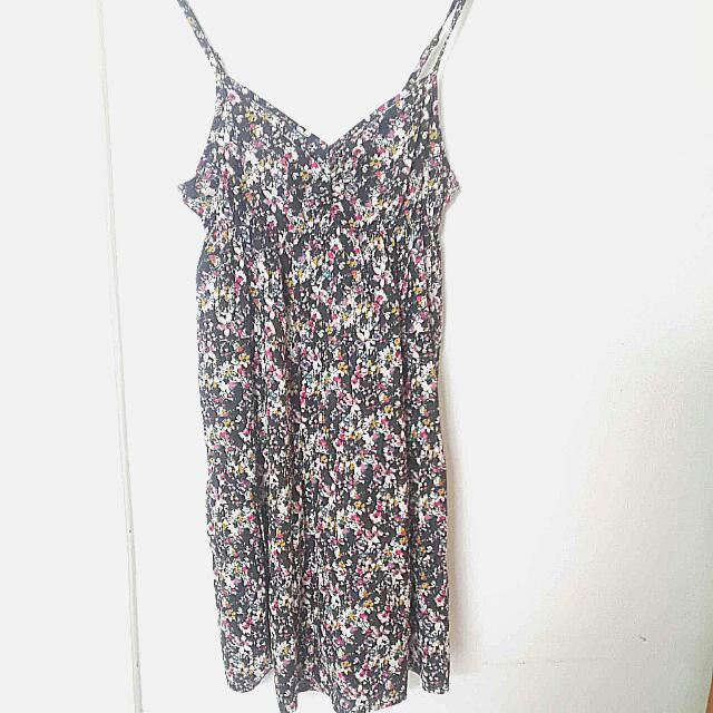 H&M Flower Patterned Dress