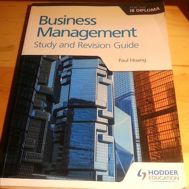 IB Buisness Management: Study and Revision Guide