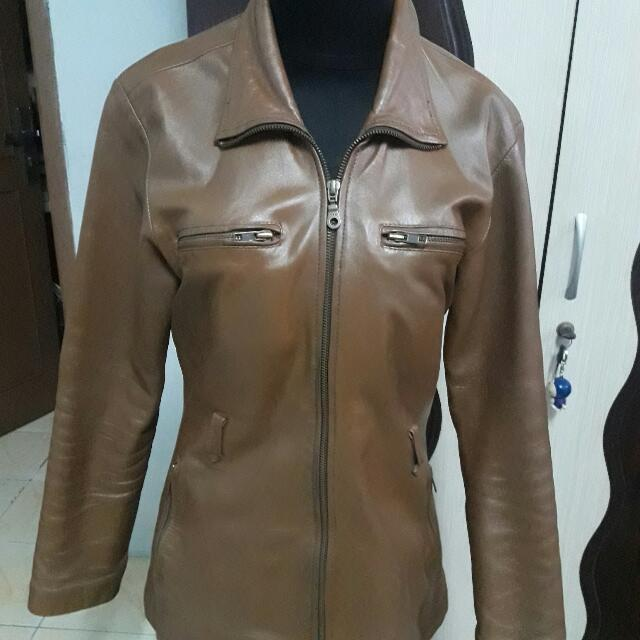 Jaket Kulit Asli / Leather Jacket