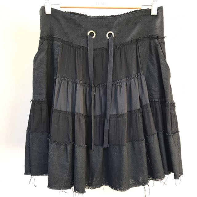 Just Jeans Black Skirt Size 12