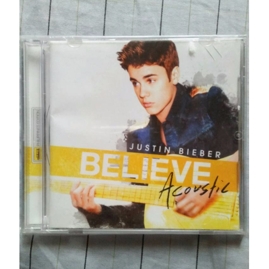 Justin Bieber CD and DVD