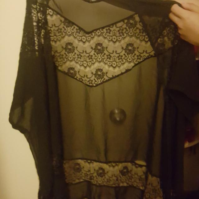 Laced Kimono