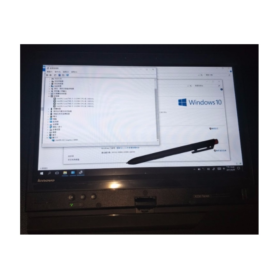 Lenovo thinkpad x230 table x230t i5 4g 180g ssd 觸控