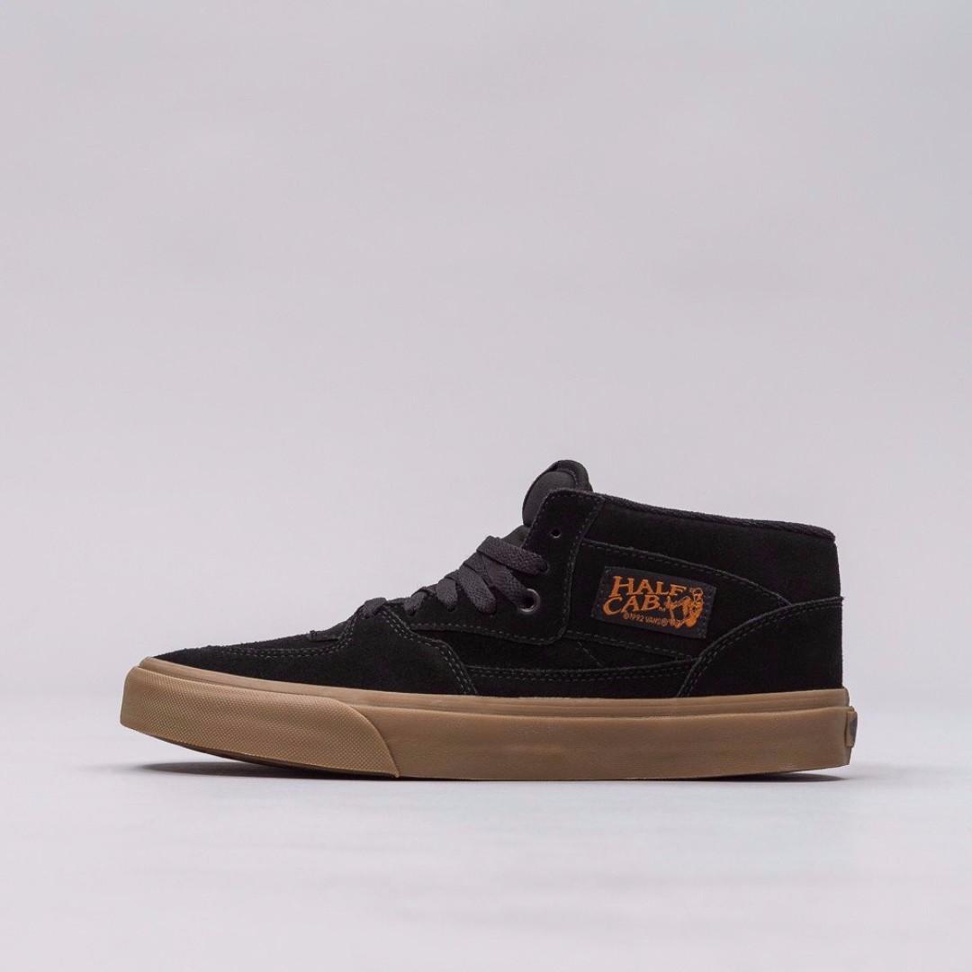 3ef75f9e0929e6  LIMITEDSALE VANS Half Cab Gumsole Shoes