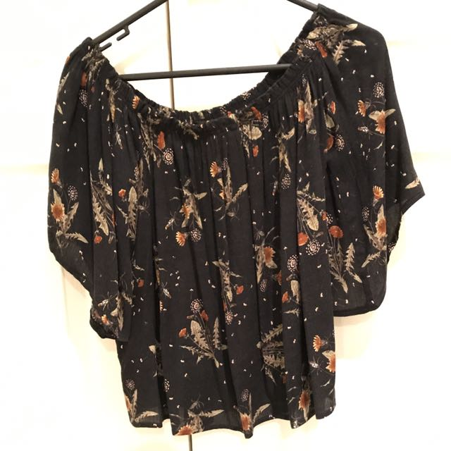 Luck And Trouble Off The Shoulder Top