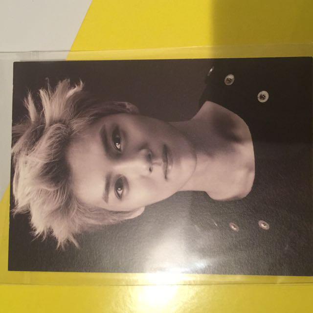Luhan Wolf OFFICIAL postcard