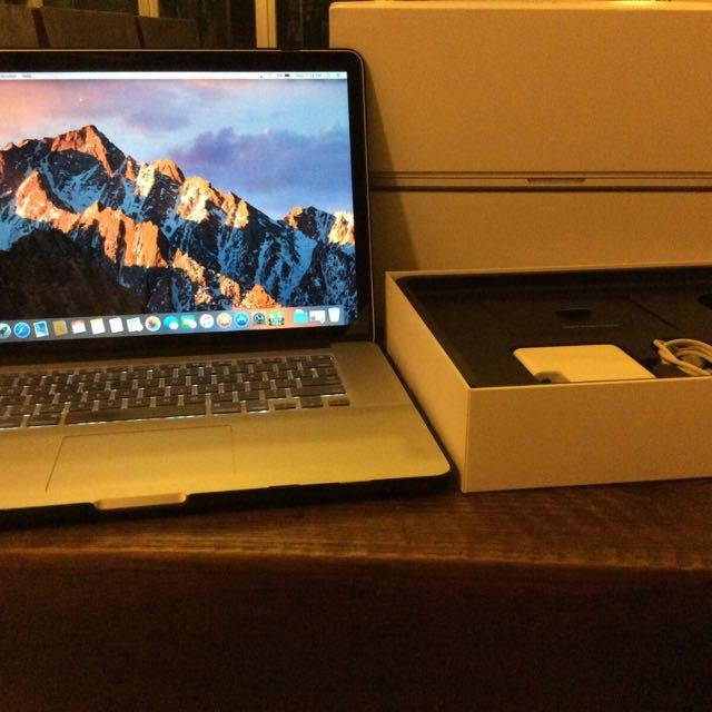 MacBook Pro, 15 Inch Retina