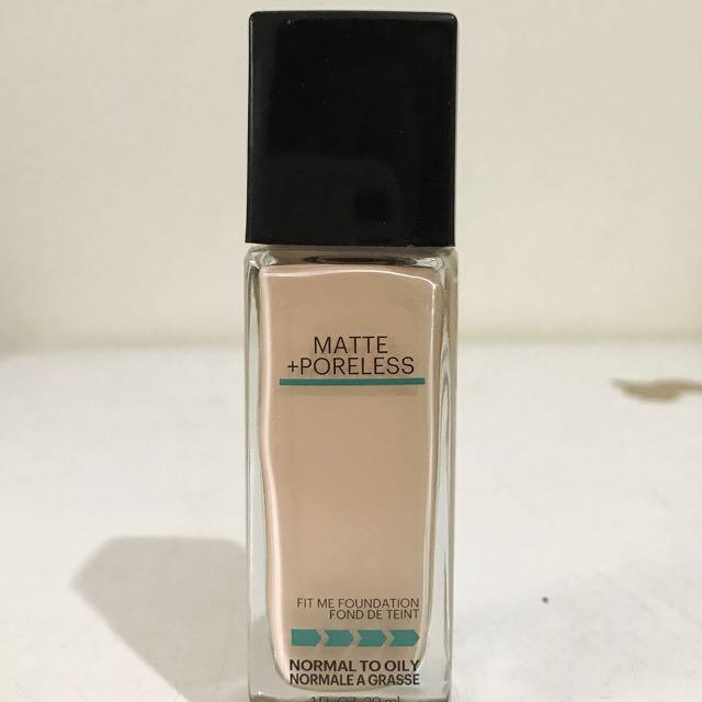Maybelline FIT ME Matte Poreless Foundation
