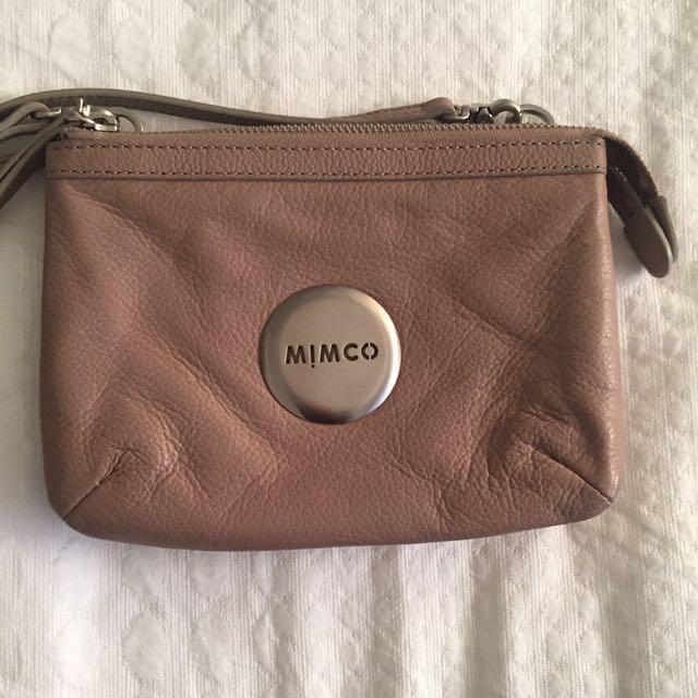 Mimco Hip Bag In Beige
