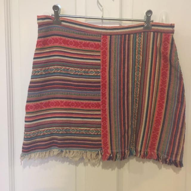 Multi colour skirt