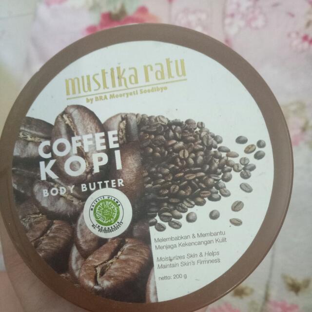 Mustika Ratu Coffee Body Butter Gratis Ongkir Bandung