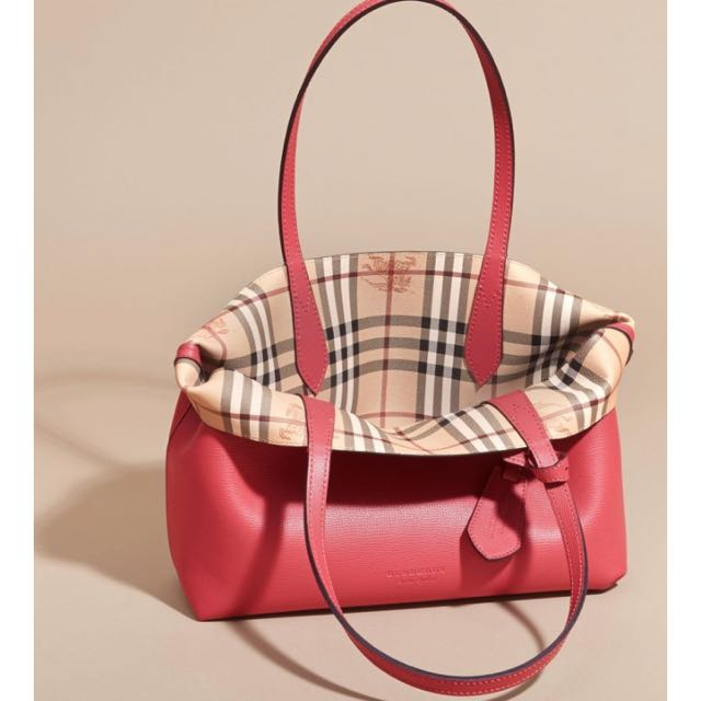 FAST SALE!!! Brand New Authentic Burberry Reversible Small Tote In ... 5c75a864e274f