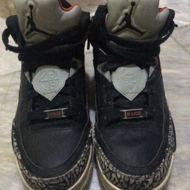 outlet store edbed d16cc Nike air, Jordan Son of Mars Low, black cement., Men s Fashion ...