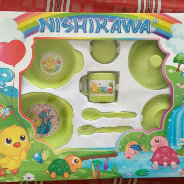 JUAL MURAH - NEW: NISHIKAWA Feeding Set