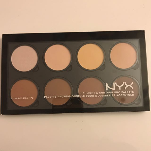 NYX highlight And Contour Palette Kit