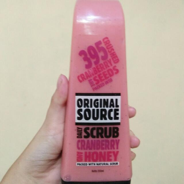 Original Source body scrub