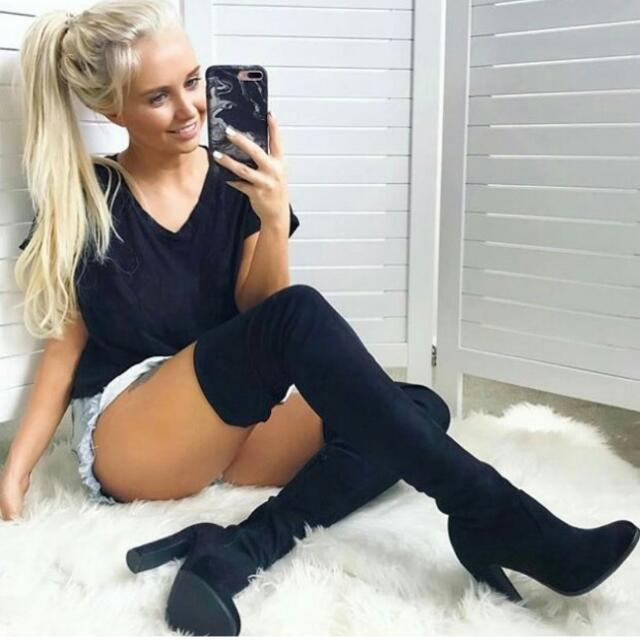 Over Knee Boots Size 5 /6