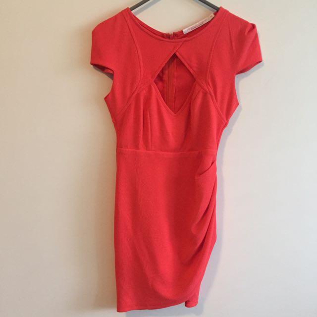 Peach Xs Dress