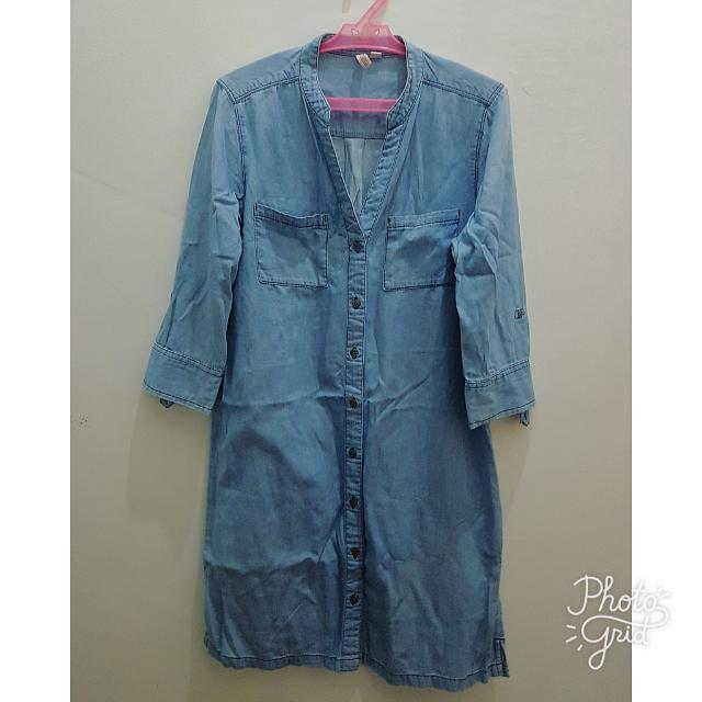 Penshoppe Denim Mini Dress