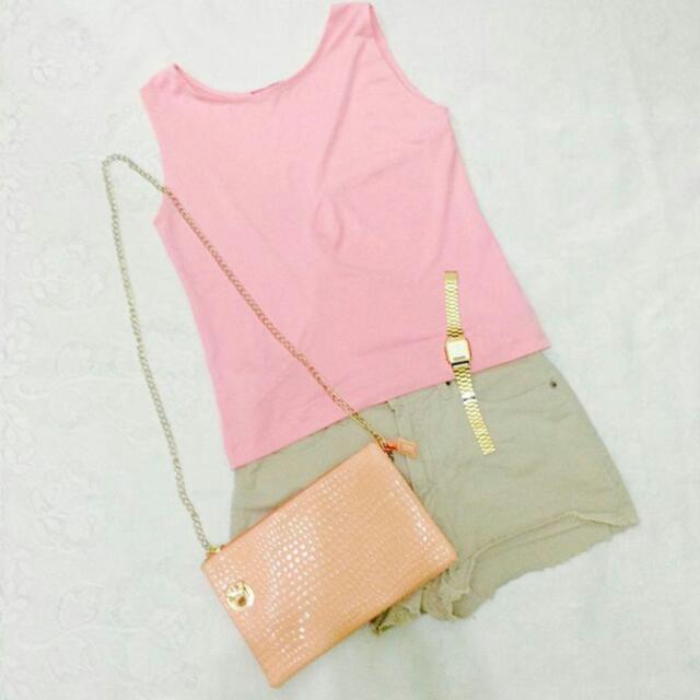 Pink Sleeveless / Medium