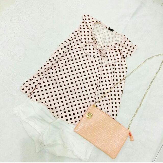 Polka Dots Top / Small - Medium