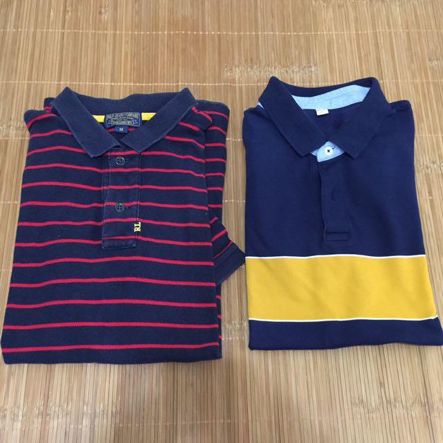 二手polo jeans companies / uniqlo polo衫