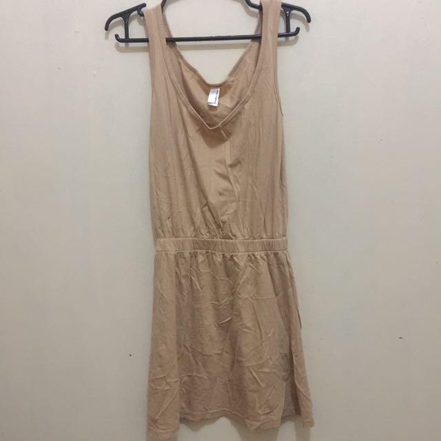 Preloved American Apparel Plain Dress
