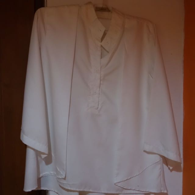 Preloved Miroir White Shirt